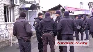 """Видео """"Новости-N"""": В Николаеве пытались захватить рынок"""