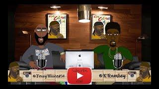 1 Siyah İnsanlar İçin Matris Renkli Erkek Podcast Karikatür - Dr. Kenton Rambsy (Bölüm)