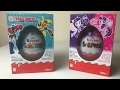 Giant Kinder Surprise Easter Eggs Unboxing Transformers My Little Pony