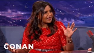 Mindy Kaling Was A Conan Intern - CONAN on TBS