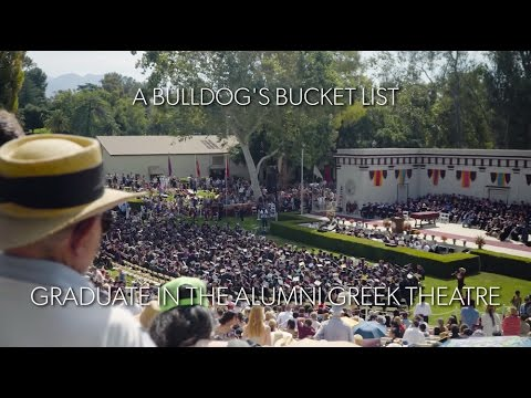 Graduate from the University of Redlands
