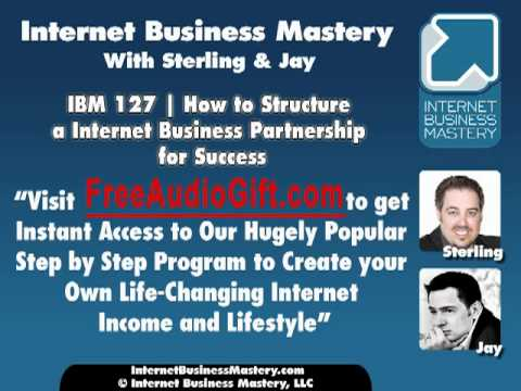 IBM 127   How to Structure a Internet Business Partnership for Success