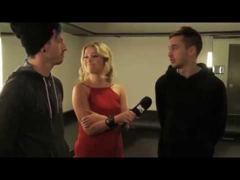 twenty one pilots interview before MTV Movie Awards