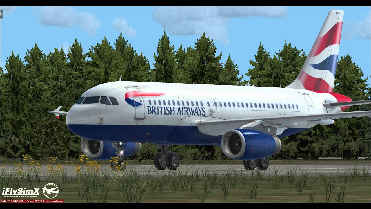 Aerosoft A319 Beta - IAE Engines Sound Preview