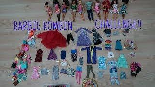 Barbie Kombin Challenge ! Gözü Kapalı En Güzel Barbie Kombini Hangimiz Yaptı? Bidünya Oyuncak