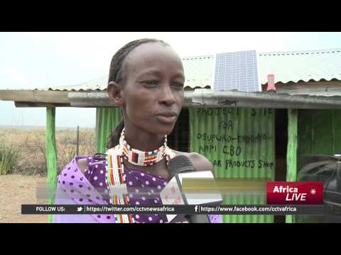 Maasai Women Installing Solar Panels in Remote Regions of Kenya
