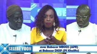 Selebe Yoon avec Babacar MBODJ (APR)  et Babacar DIOP (PS Khalifa)