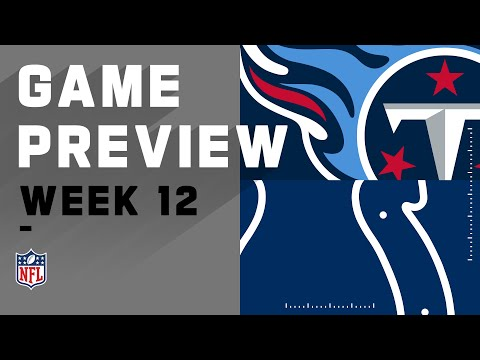 Tennessee Titans vs. Indianapolis Colts   Week 12 NFL Game Preview