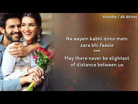 Duniya Lyrics With English Translation - Luka Chuppi