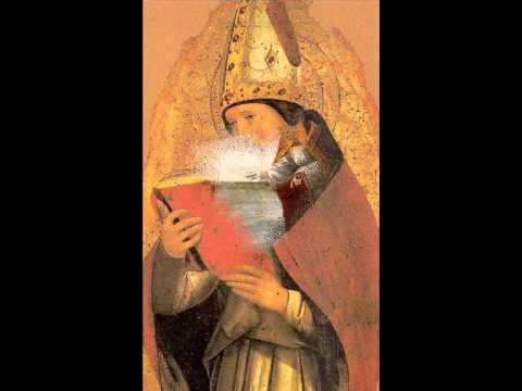 Prayer of St. Augustine (with lyrics)