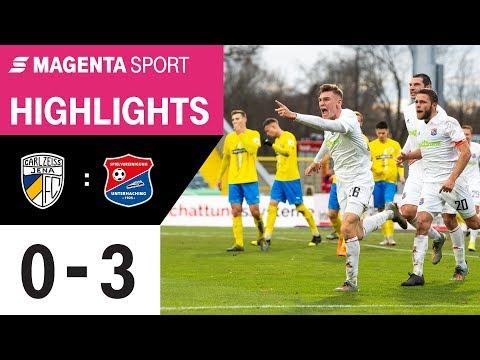 FC Carl Zeiss Jena - SpVgg Unterhaching   Spieltag 18, 19/20   MAGENTA SPORT