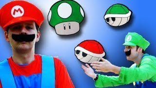 MARIO AND LUIGI COME TO LIFE!