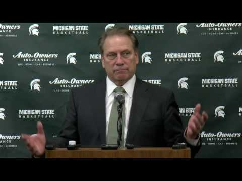 Tom Izzo Post-Wisconsin Press Conference