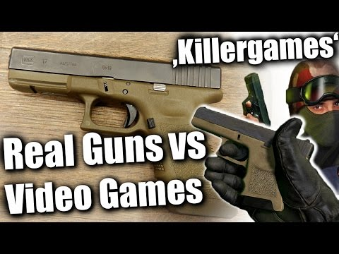 Video Games & Real Guns | Ramblings about Media Bullshit