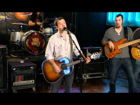 Wade Bowen performs