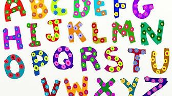 Английский детям. Учим алфавит английского языка. English ...