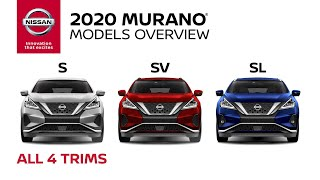 homepage tile video photo for 2020 Nissan Murano Crossover Walkaround & Review