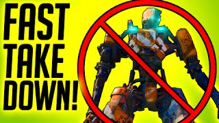 FASTEST WAYS TO DISABLE ROBOT in BLACK OPS 3