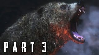 Rise of the Tomb Raider Walkthrough Gameplay Part 3 - Bear Attack (2015)