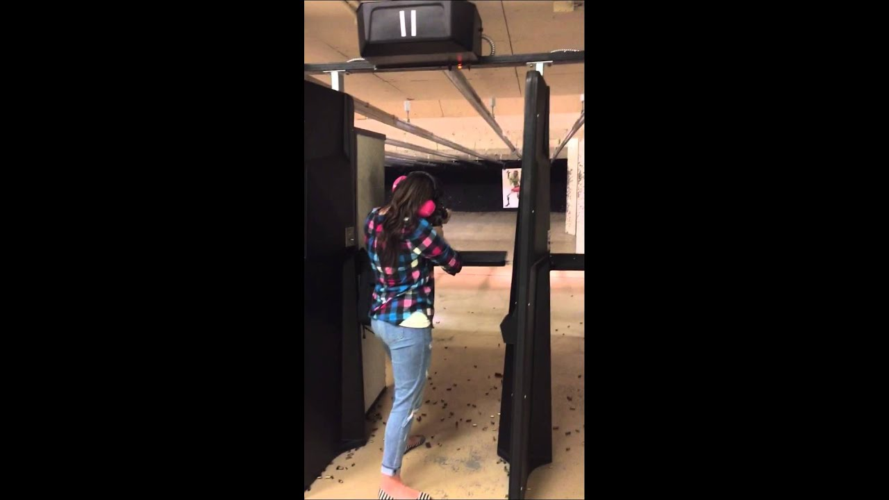 Shelby Shooting Our Smith And Wesson M P Ar 15 At Guns Fishing