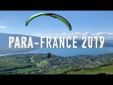 Франция, Анси 2019. Полёты на параплане и парамоторе.