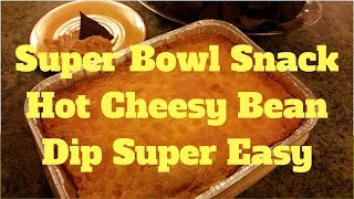 How to Make Cheesy Burrito Game Day Dip recipe - Video Tutorial