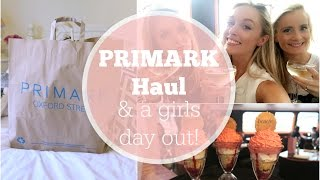 Summer Holiday Primark Haul & A Girls Day Out!   |   Fashion Mumblr Every Day May