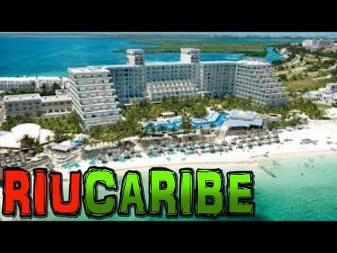 RIU CARIBE Hotel Cancun Mexico 4K