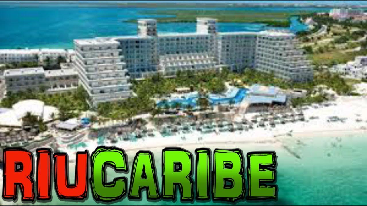 riu caribe hotel cancun mexico 4k youtube. Black Bedroom Furniture Sets. Home Design Ideas