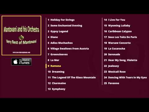 Mantovani and his Orchestra - Very Best of Mantovani Album Pre-Listen [Official]