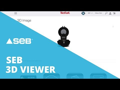 3D Viewer for SEB, Tefal | DEMO | Sketchfab