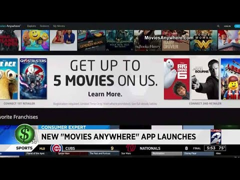 "Consumer headlines: New ""movies anywhere"" app launches"
