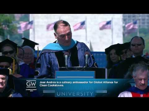 George Washington University 2014 Commencement
