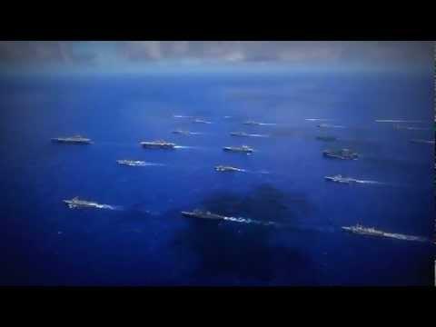 Các chiến hạm khủng trong tập trận RIMPAC 2012 | RIMPAC Navy Ships | Video RIMPAC 2012