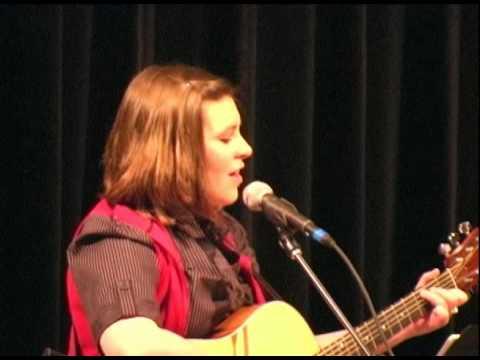 Alyssa Fischer performs God Bless America