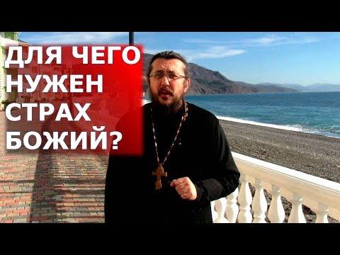 Для чего нужен страх Божий? Священник Игорь Сильченков