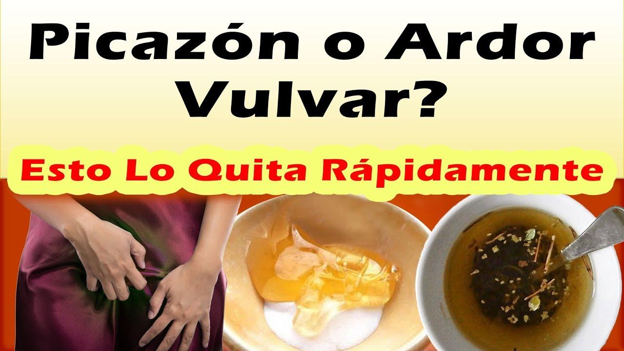 REMELDIOS CASEROS PARA PICAZON ARDOR VULVAR Como Quitar La