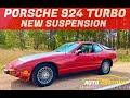 Rebuilding The Abandoned Porsche 924 Suspension & More New Exhaust!