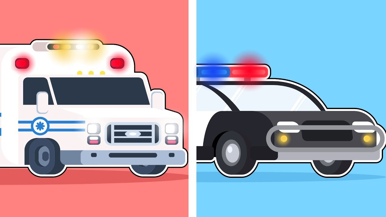 Emergency Vehicles Exhibition (Puzzles)