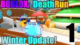 [ROBLOX: Death Run Winter] - Lets Play w/ Friends Ep 1 - New Lava Map!
