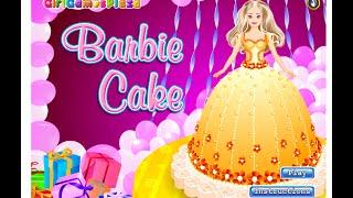 Barbie - Barbie Cake Game - Barbie Games