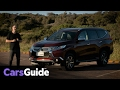 Mitsubishi Pajero Sport Exceed 7 seat 2017 review | road test video