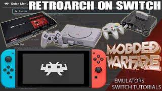 Switch Tutorials #3 Running Emulators on the Switch
