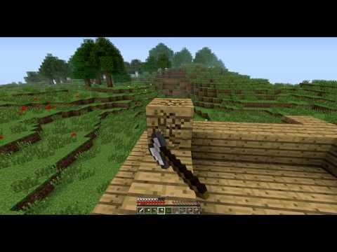 Minecraft Bölüm 7 : Küçük Bir Eve Merhaba...