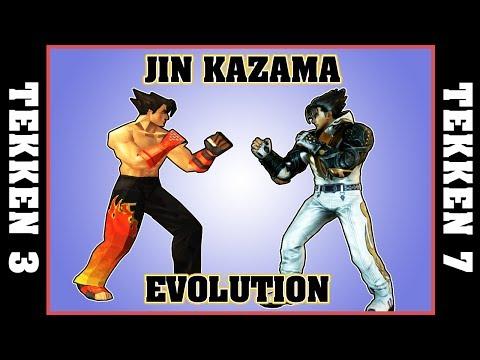 JIN KAZAMA evolution [TEKKEN 3 - TEKKEN 7]
