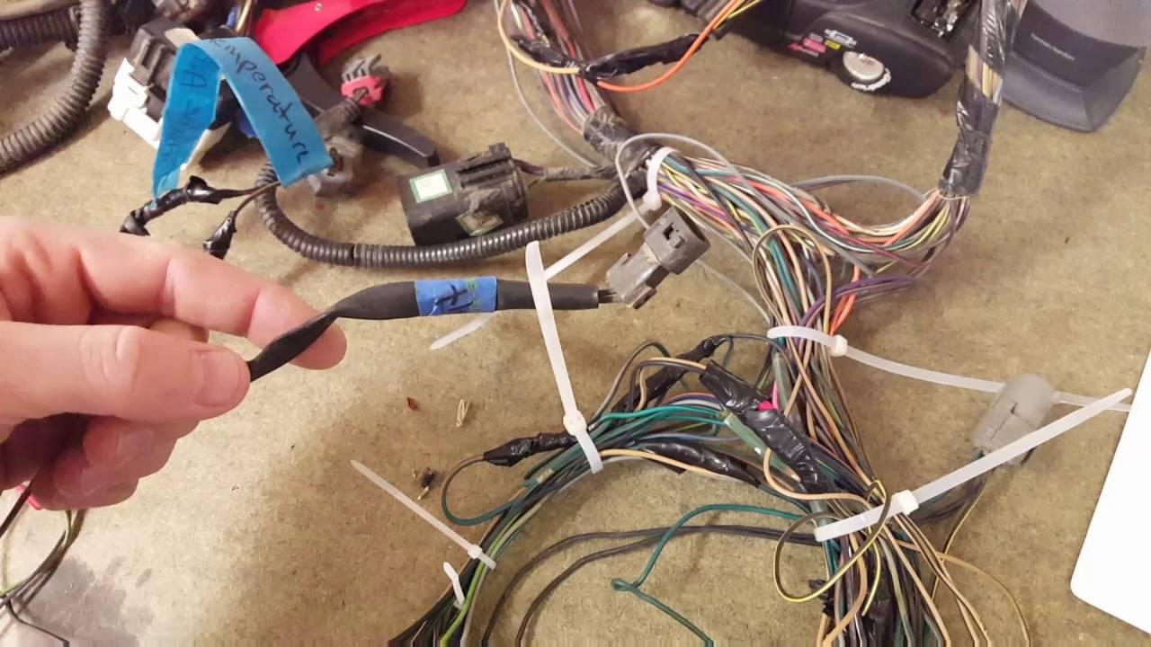 Jeep tj 5.9 swap Video 18 (Wiring harness) Jeep Tj Ls Swap Wiring on jeep yj engine conversion, chrysler 300 ls swap, buick roadmaster ls swap,