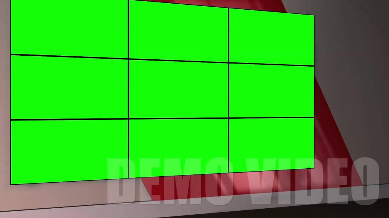 Virtual TV Studio Background amp Template  VideoBlocks