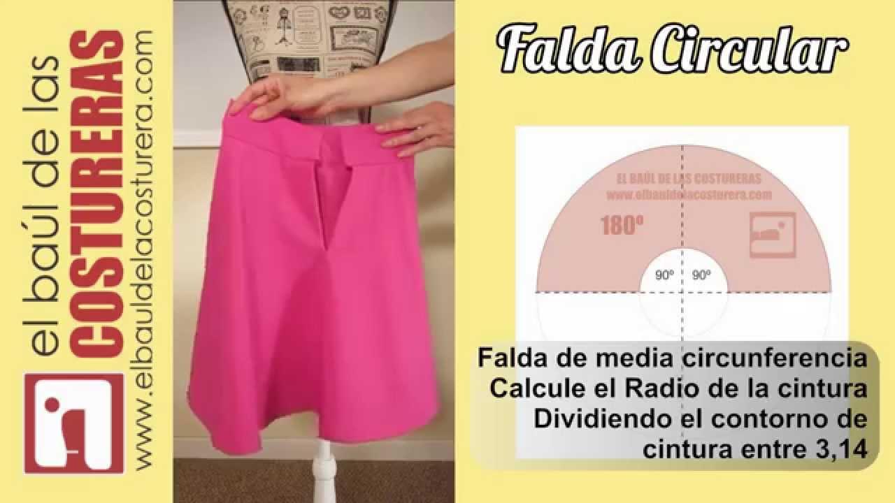 57a72c2a2 Falda Medio Plato ¿Cómo caen los pliegues?