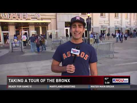 Taking a tour of the Bronx