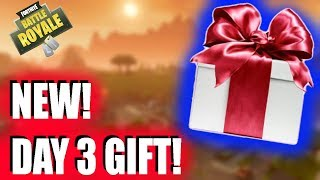 NEW DAY 3 GIFT!! (PLAYING W CHAT) (14 days of Fortnite)!- TriggeredGaming - Fortnite